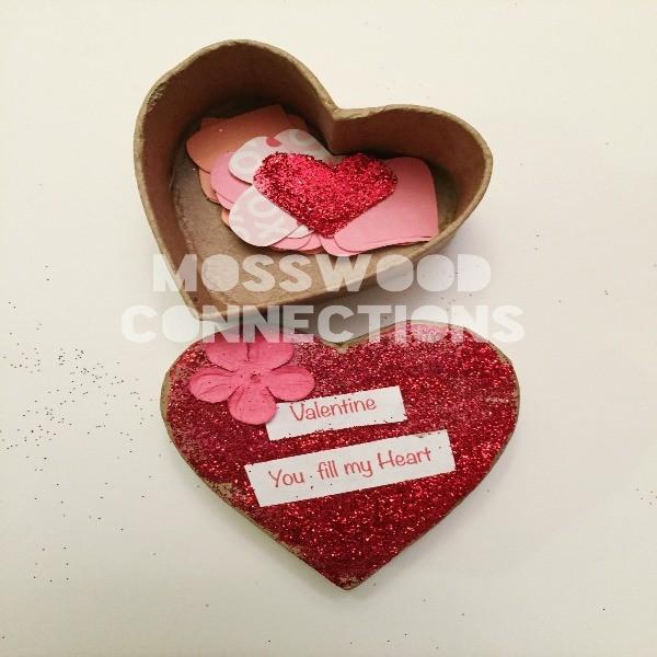 Confetti Heart Boxes Sample