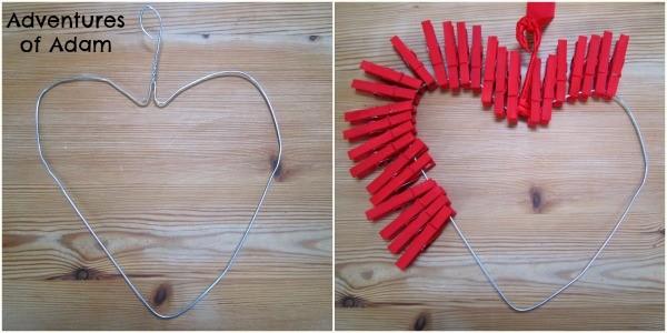 Creating a peg heart