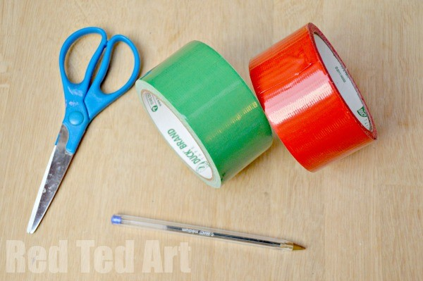 Duct Tape Crafts - Roses