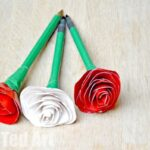 Duct Tape Rose Pens – How To