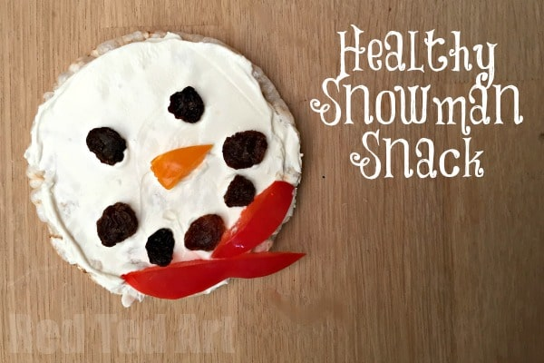 healthy snowman snack red ted arts blog