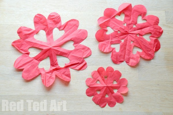 Heart Snowflake Craft