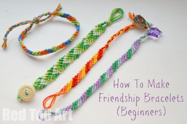 Pics For > Friendship Bracelet Instructions For Beginners
