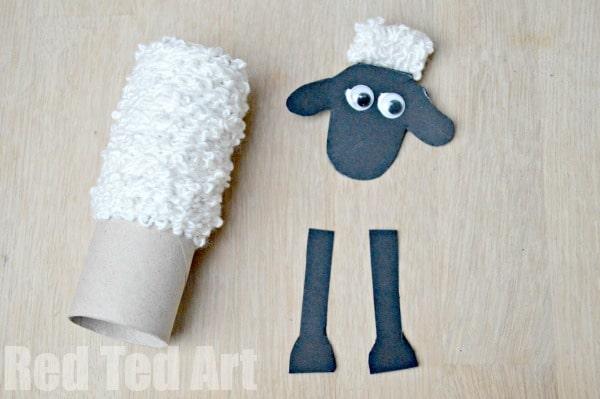 Make A Shaun The Sheep Red Ted Art S Blog