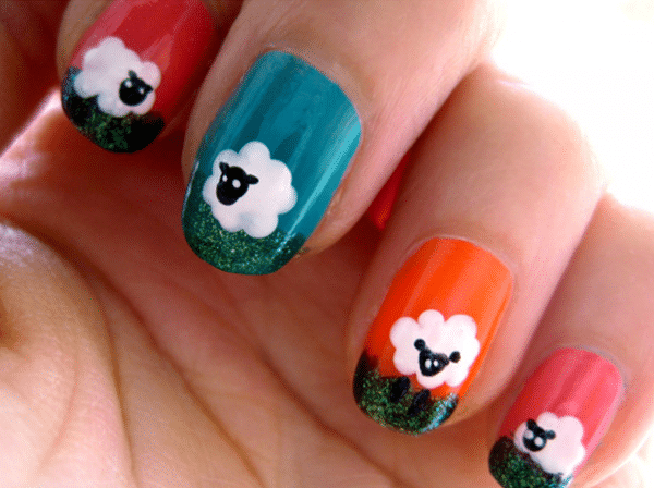 Nail-art-for-spring