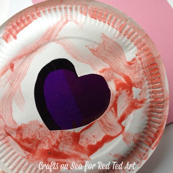 Preschooler valentines day craft