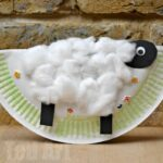 Rocking Paper Plate Sheep