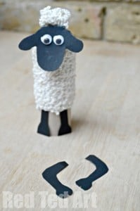Shaun the Sheep Ideas Red Ted