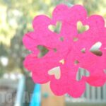 Valentine's Day – Heart Shaped Snowflakes