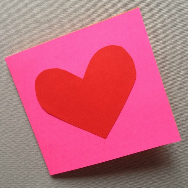 Valentine\'s Day Cards - Pop-Out Heart Cards - Red Ted Art\'s Blog