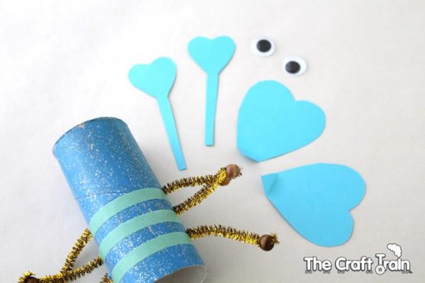 Valentines day love bug craft