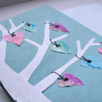 Water Color Heart Themed Valentines' Day Card by The Educators' Spin On It