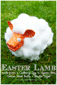 easter lamb craft