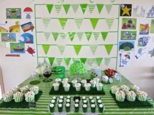 green sheep tea party