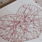 Valentine's Crafts – Heart Canvases