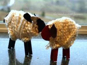 lamb and sheet crafts