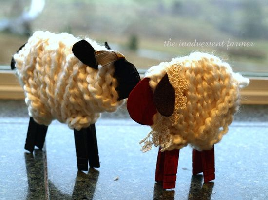 lamb and sheet crafts