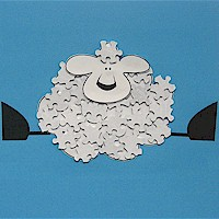 lamb craft puzzles