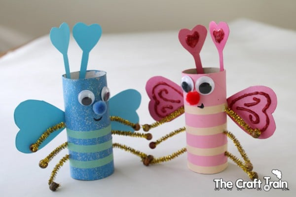 why do you love arts and crafts answers toilet roll bugs for s day ted s 8222