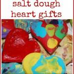 salt dough heart gifts