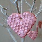 saltdough hearts bubble wrap crafts