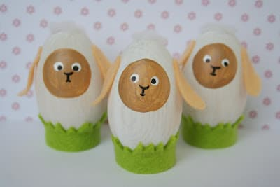 sheep egg crafts
