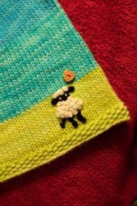 sheep lamb embroidery
