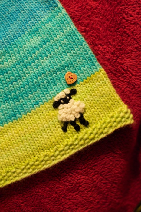 sheep lamb embroidery