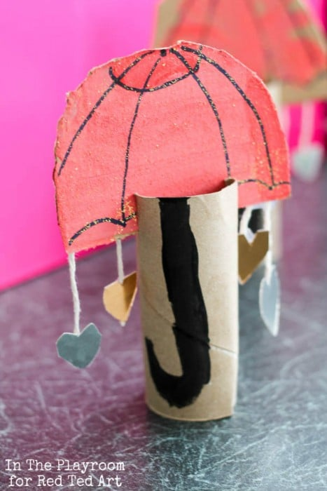 Large mushrooms made from a umbrella. DIY Alice & Wonderland event ... | 700x467