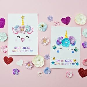 Printable Unicorn Cards By Hello Wonderful
