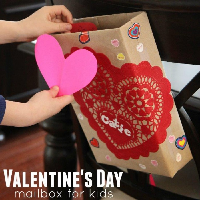 Cereal box mailboxes for valentine 39 s day red ted art 39 s blog for Valentines day art and crafts for preschoolers