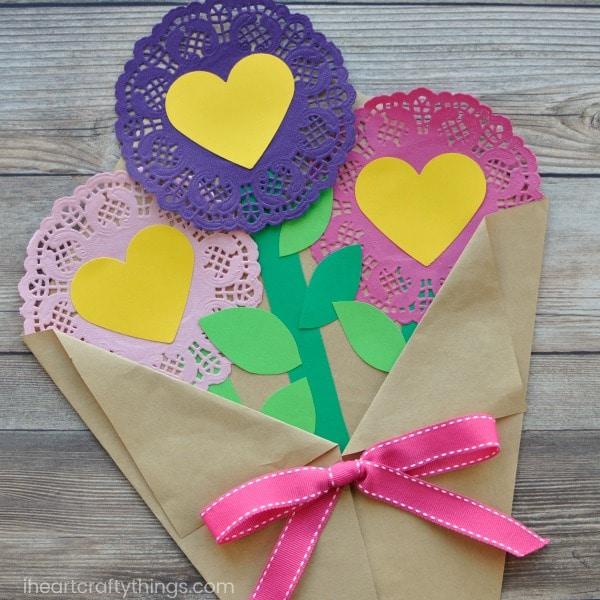 valentinesdaypaperflowerscraft  red ted art's blog