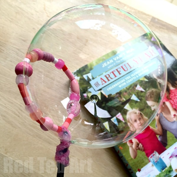 Bead Bubble Wand Craft