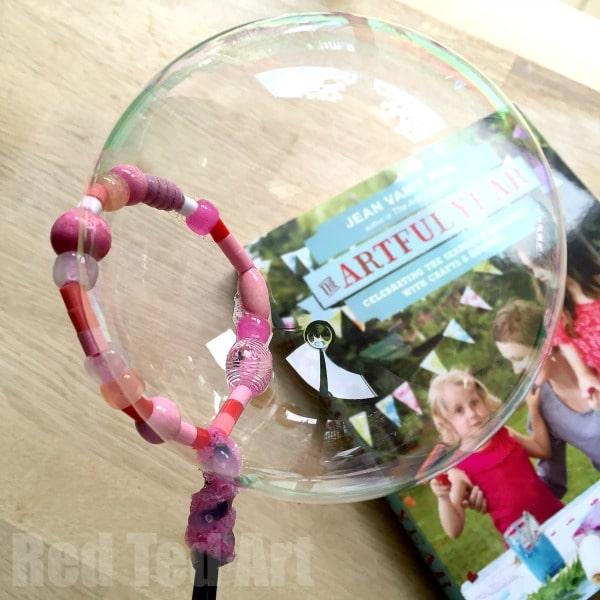 Bead Bubble Wand Craft