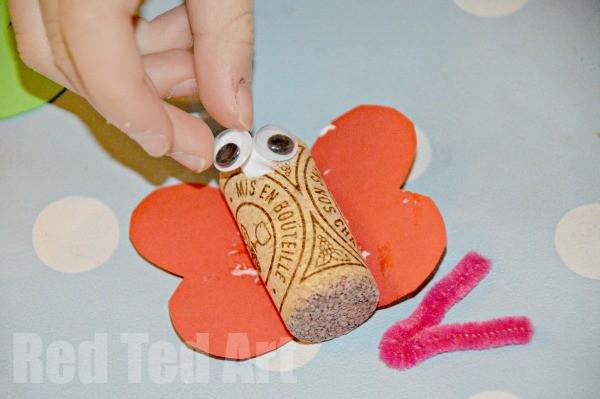 Cork Bug Crafts