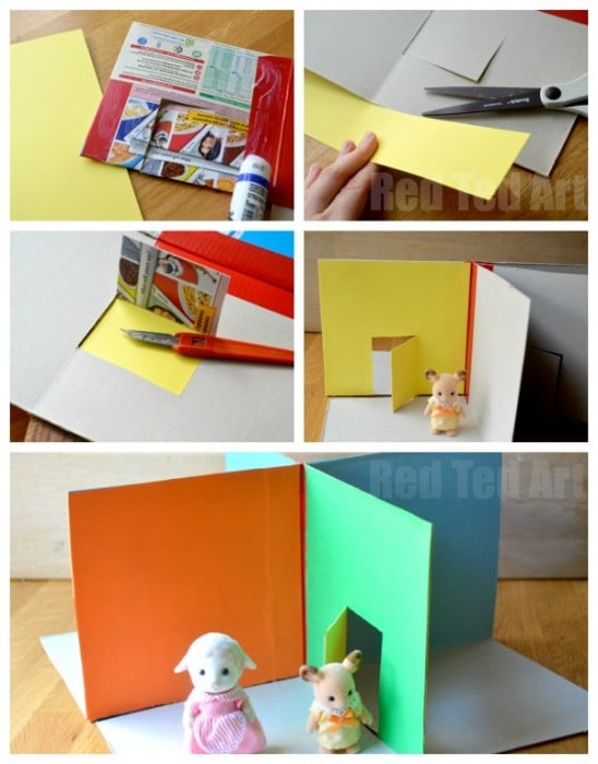 DIY Dolls House Craft