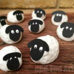 Easy Fondant Sheep