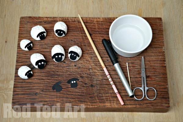 Easy Fondant Sheep How To