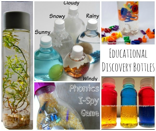 Educational Discover Bottles - From Phonics, to Colour Theory and Eco Systems