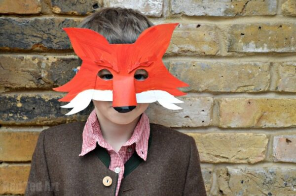 Fantastic Mr Fox Mask For World Book Day Red Ted Arts Blog