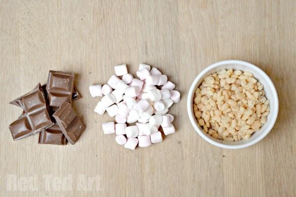 Marshmallow Rice Crispy Treats - ingredients