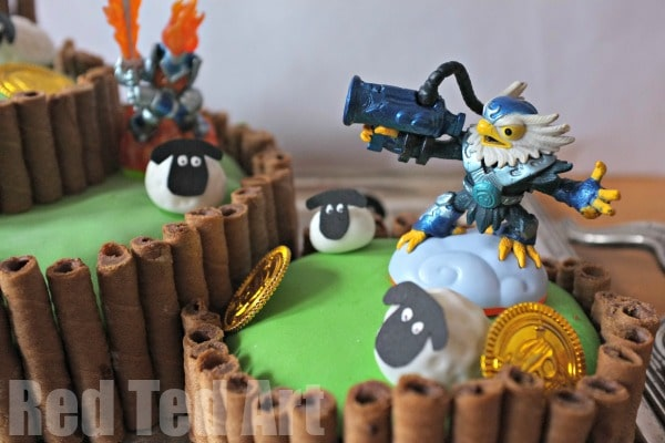 Astounding Skylanders Birthday Party Cake Red Ted Art Make Crafting With Funny Birthday Cards Online Inifofree Goldxyz