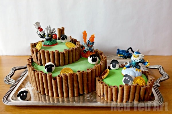Skylanders Birthday Party Cake