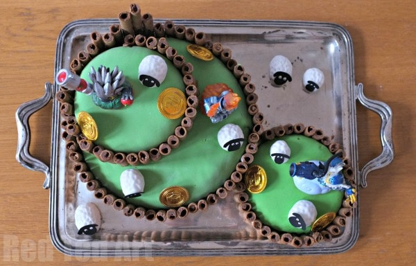 Skylanders Cake - wonderful Skylanders Party
