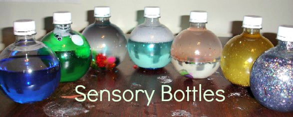 different sensory bottle ideas