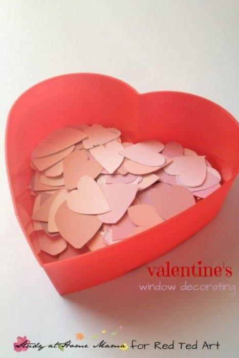 heart window decoration for valentine (1)