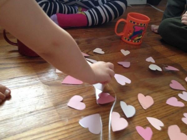 heart window decoration for valentine (9)