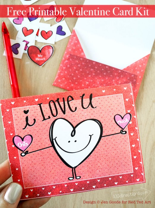 Make Your Own Valentine Cards – Create Your Own Valentine Card Online