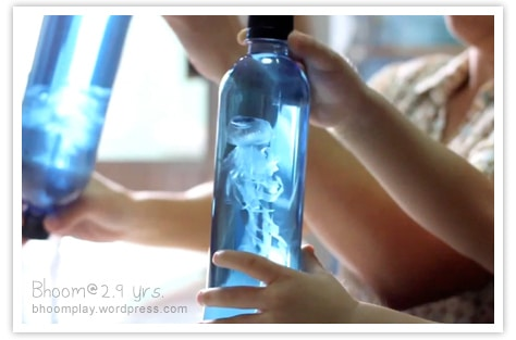 jelly fish discover bottle