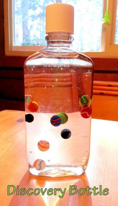 marble sensory bottle